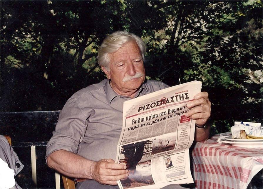 Φοίβος Τσέκερης (1921-2015) Φωτο: Angelos Tsekeris – facebook