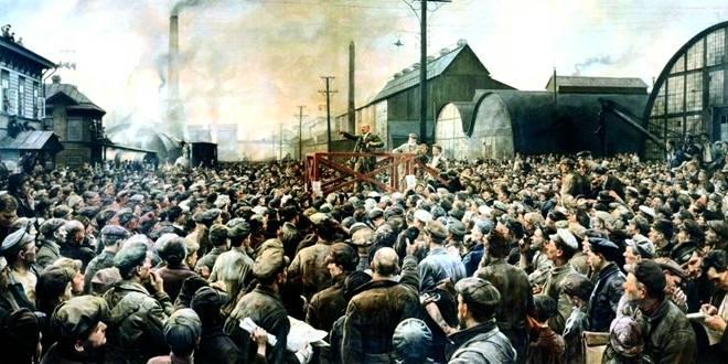 «Ο Λένιν μιλάει στους εργάτες» (1929)