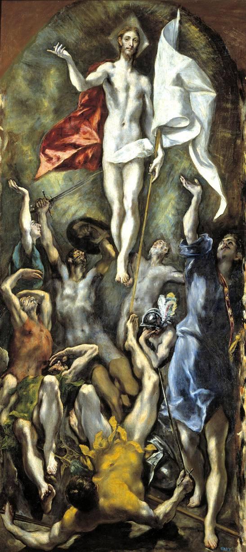 Δομήνικος Θεοτοκόπουλος, «Ανάσταση», Μουσείο Πράδο, Μαδρίτη