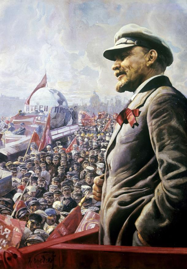 «Βλαντιμίρ Λένιν, 1 Μάη 1920» (1927)