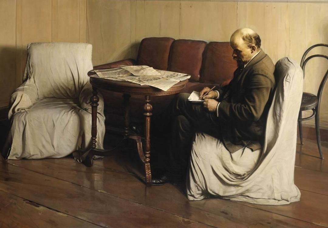 «Ο Βλαντιμίρ Λένιν στο Σμόλνι» (1930)