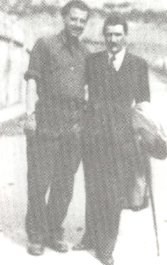 """""""Λιδωρίκι 1943. Με τον αδελφό του Λάμπρο"""""""
