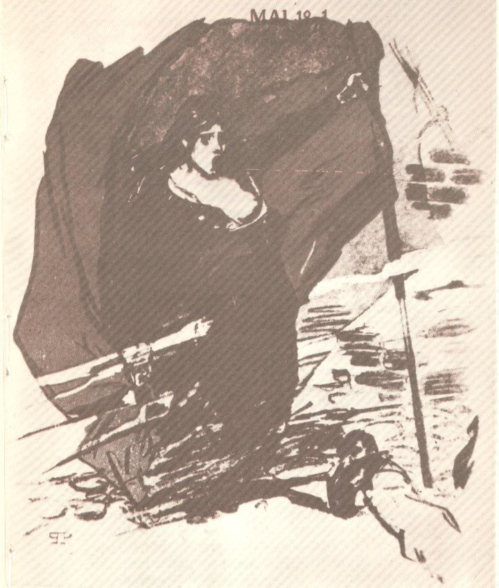 Η Κομμούνα (Σχέδιο του Τ.Α. Στέινλεν).