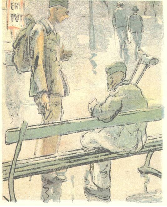 Ο ΦΡΙΤΣ ΒΡΗΚΕ ΤΟ ΦΩΣ ΤΟΥ! ― Όταν είχα την όρασή μου πίστευα τυφλά στον Χίτλερ. Τώρα που την έχασα στον πόλεμο άρχισα κάτι να βλέπω!