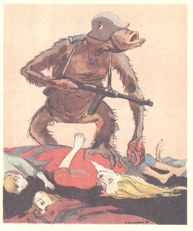 ΣΚΟΤΩΣΕ ΤΟ! Ο δίκαιος νόμος είναι απαράβατος: το κτήνος που τρέφεται με ανθρώπινο αίμα πρέπει μια για πάντα να εξοντωθεί απ' το ανθρώπινο χέρι!