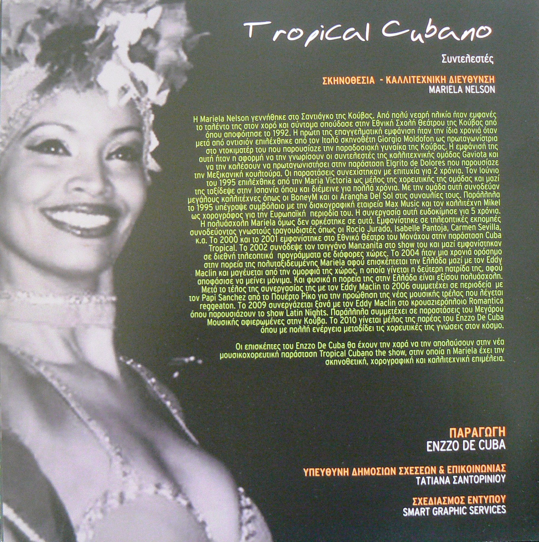 Tropical Cubano the show ,2010