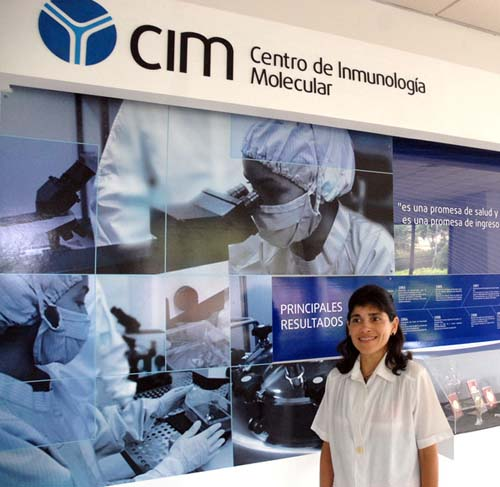 Centro Inmologia Molecular,doctora Tania Cronbet