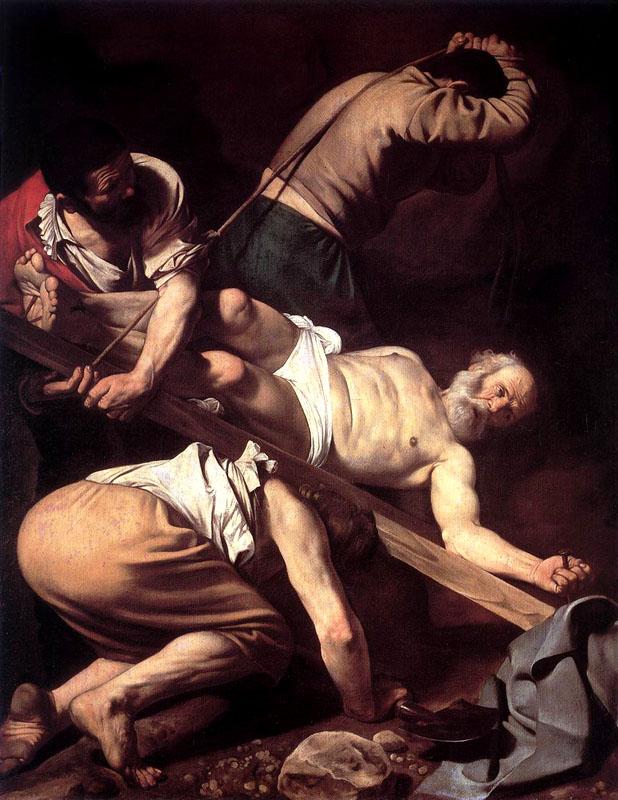 Η Σταύρωση του Αγίου Πέτρου, έργο του Καραβάτζιο
