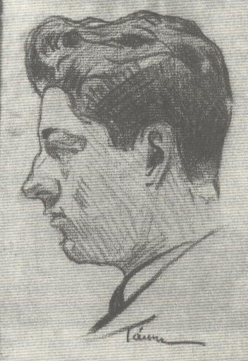 Κ. Βιδάλης. Σκίτσο του Δημ. Χατζή