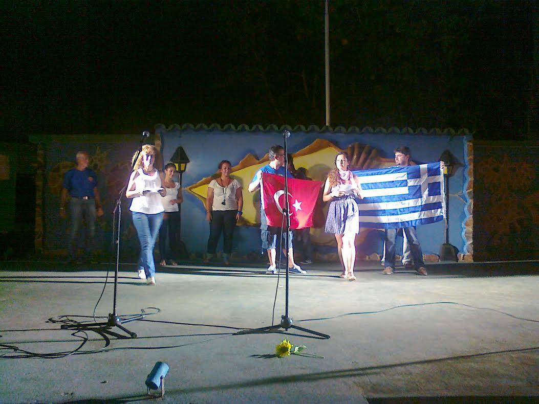 Κοινή εκδήλωση με την Τουρκική αντιπροσωπεία - 2012