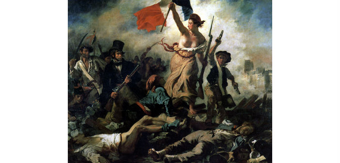 Eugene Delacroix, Η Ελευθερία οδηγεί το λαό