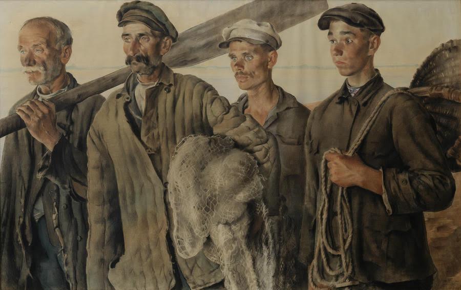 Evgeny Katsman, ''Fisher-kolkhozniks''