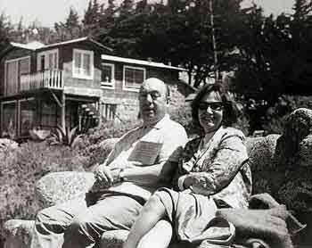 Ο Πάμπλο Νερούδα και η Δανάη Στρατηγοπούλου