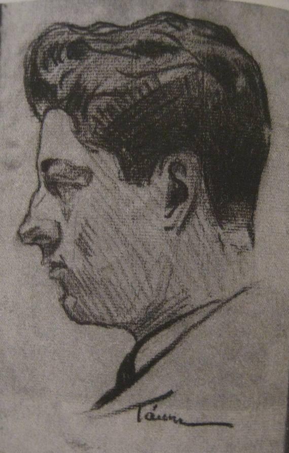 Σκίτσο του κ. Βιδάλη που έφτιαξε ο Δημ. Χατζής