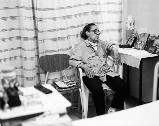 """Στο νοσοκομείο Σωτηρία. Φωτογραφία: Σπύρος Στάβερης (για το περιοδικό """"01"""") Πηγή: www.lifo.gr"""