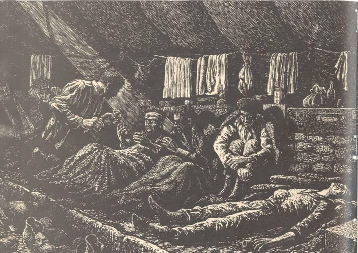 """Καψόνι της δίψας: """"Το τελευταλιο φλυτζανάκι"""" (Από σκίτσο του 1949), του Γ. Φαρσακίδη"""