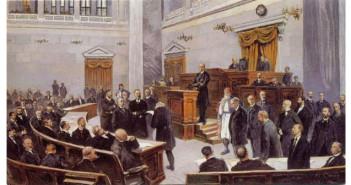 Συνεδρίαση στην Παλαιά Βουλή (19ος αιώνας)