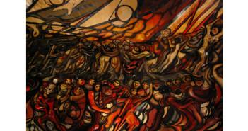 DAVID ALFARO SIQUEIROS, La Marcha de la Humanidad, 1967 - 1971
