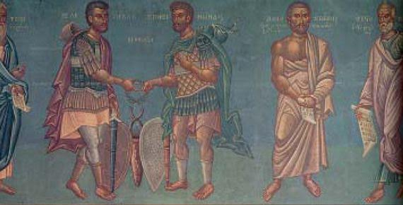 Ο Πελοπίδας...Επαμεινώνδας...Δημοσθένης...Αριστοτέλης
