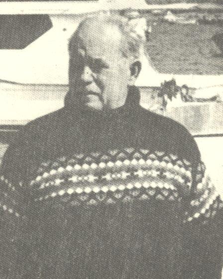 Μίμης Βρονταμίτης (φωτογραφία από το βιβλίο του Φίλιππα Γελαδόπουλου «Μακρόνησος, Η μεγάλη σφαγή του 1948»)