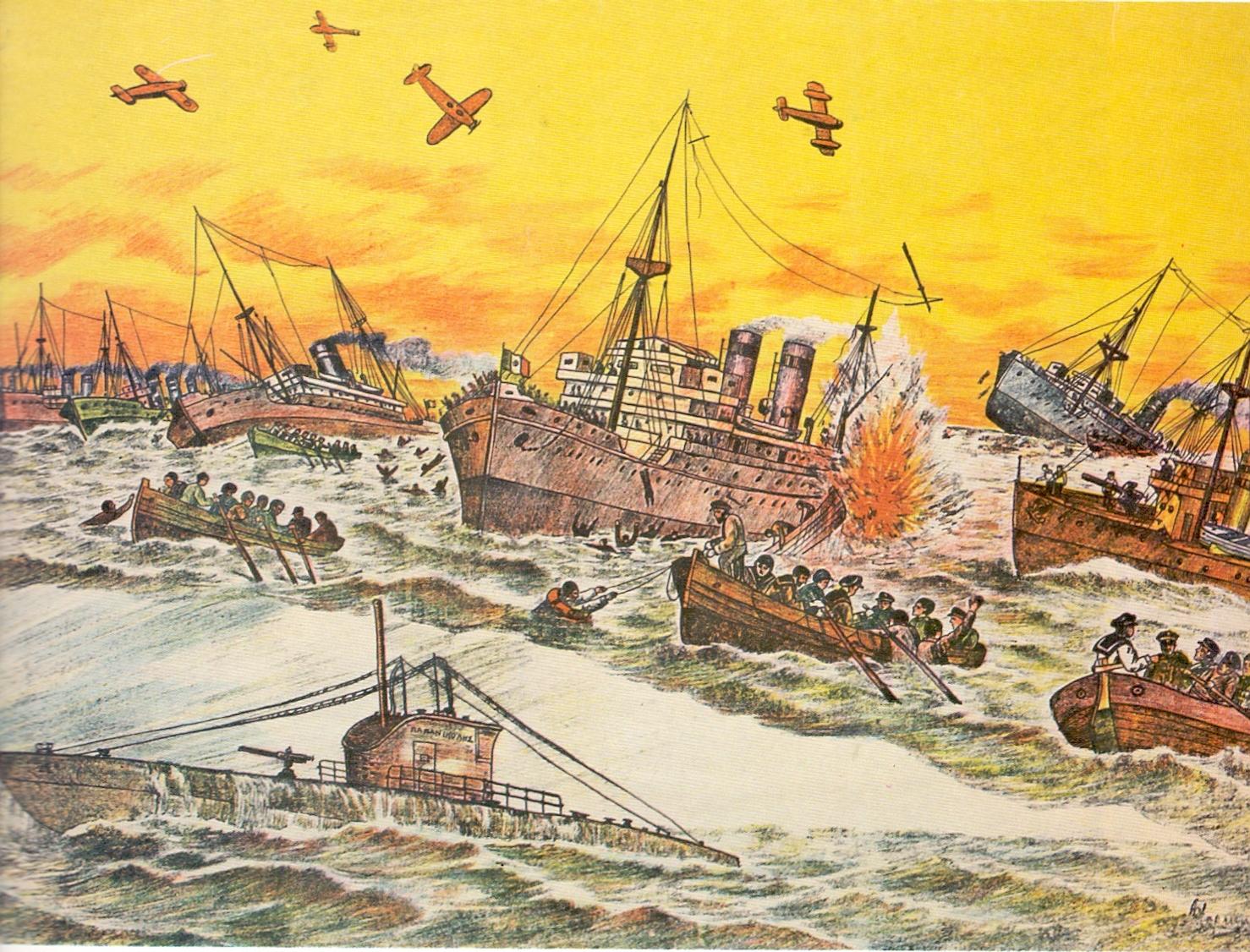 Η δράση του υποβρύχιου «Παπανικολής» εναντίον των ιταλικών νηοπομπών