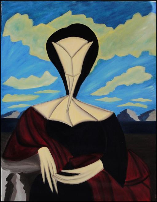 Γυναίκα που κάθεται