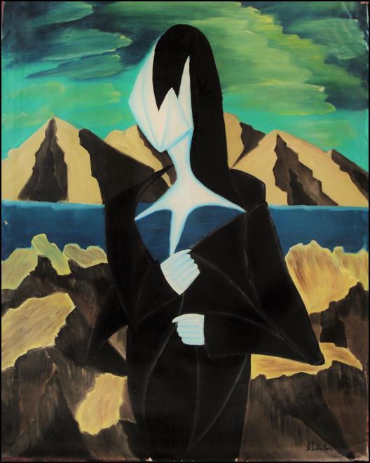 Γυναίκα στα μαύρα