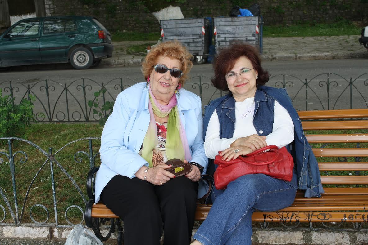 Η Φαίδρα Ζαμπαθά – Παγουλάτου με την Μαργαρίτα Φρονιμάδη - Ματάτση
