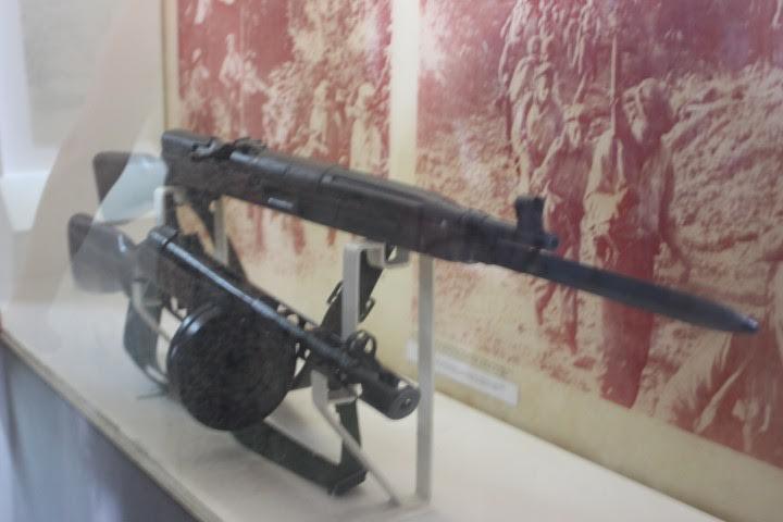 Από το μουσείο της μάχης της Πλάγια Χιρόν