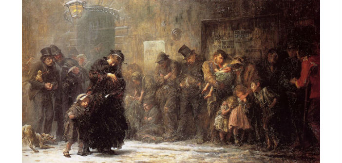 Luke Fildes, Applicants for Admission to a Casual Ward (1874), Tate Gallery of London