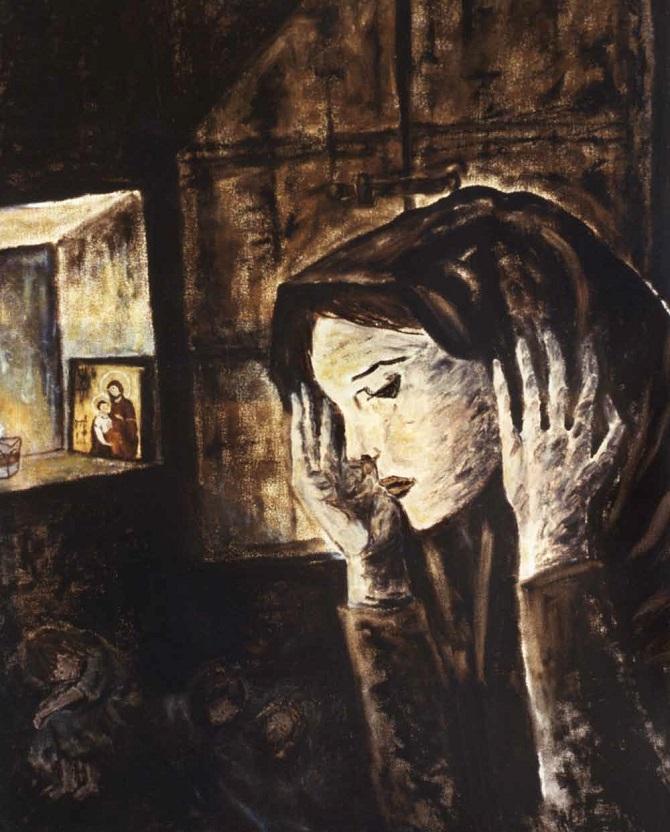 Αγλαΐα Κυριακοπούλου-Κανελλοπούλου: «Μάνα Καλαβρυτινή»