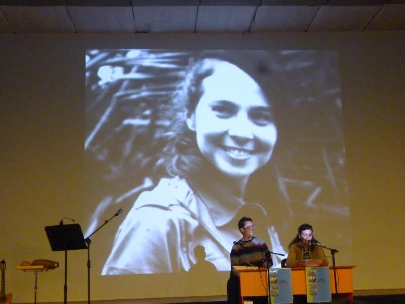 Από την εκδήλωση-παρουσίαση τυ βιβλίου. Φωτογραφία: Γιάννης Τσαλ.