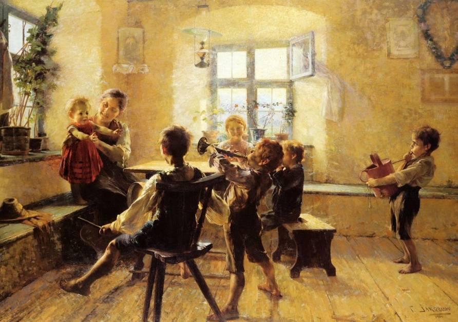 Γεώργιος Ιακωβίδης, «Παιδική Συναυλία», 1894