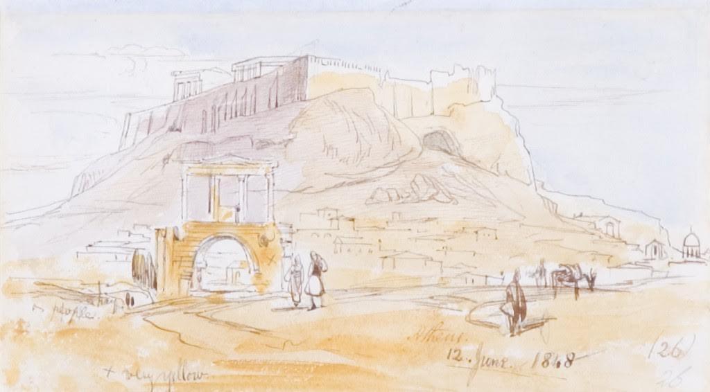 Eduard Lear, Αθήνα (1848)