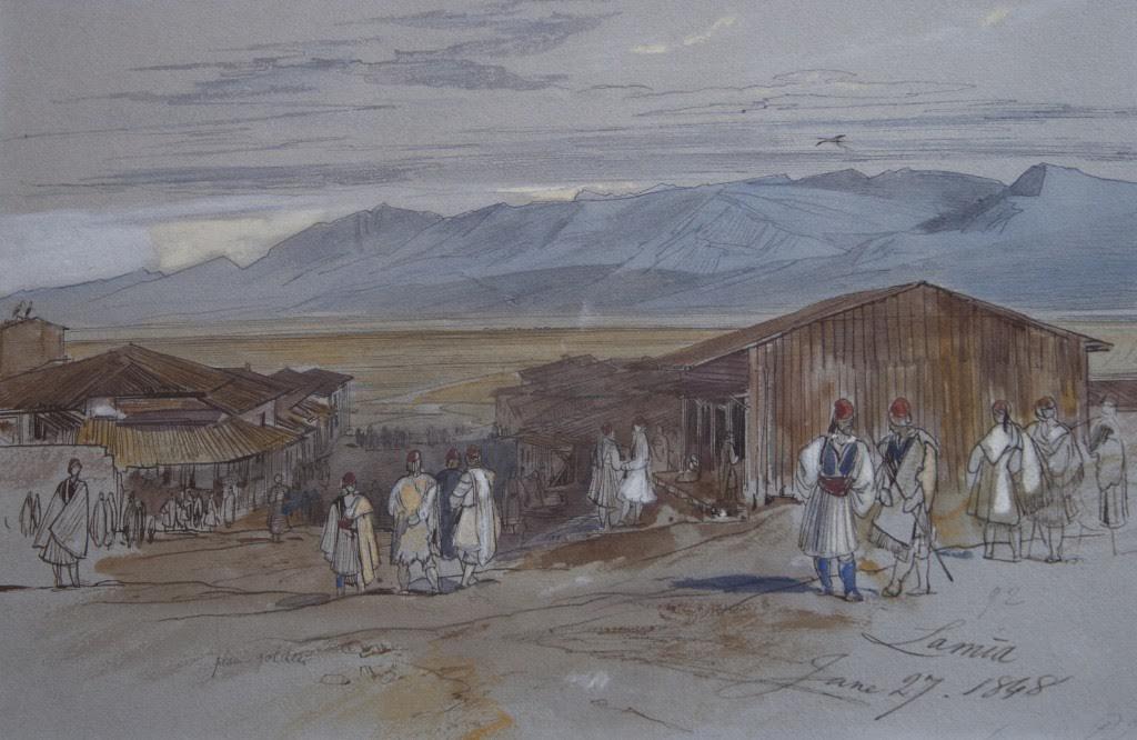 Eduard Lear, Λαμία (1848)