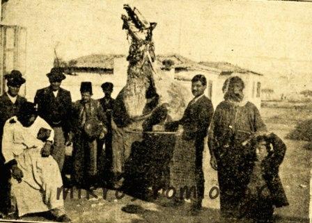 Η περιφορά της «γκαμήλας», κατά τον 19ο αι. (Πηγή φωτογραφίας: mikros-romios.gr)