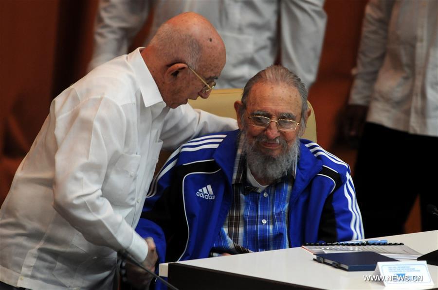 Με τον Χοσέ Ραμόν Ματσάδο Βεντούρα, Β' Γραμματέα της ΚΕ του ΚΚ Κούβας