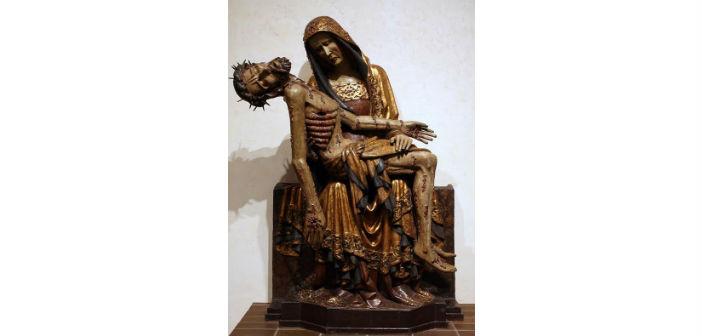 Pieta of Lubiaz (1360 - 1370), άγνωστου καλλιτέχνη, Εθνικό Μουσείο Βαρσοβίας