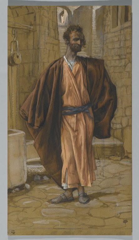 James Tissot, Ιούδας ο Ισκαριώτης (1886 - 1894), Brooklyn Museum