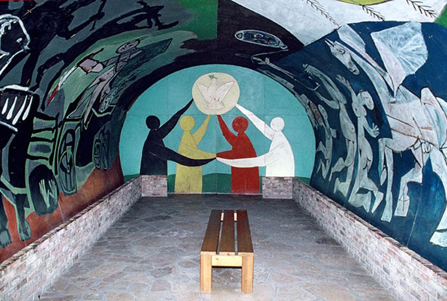 """Μουσείο """"Musée National Picasso"""" στο Vallauris, Γαλλία."""