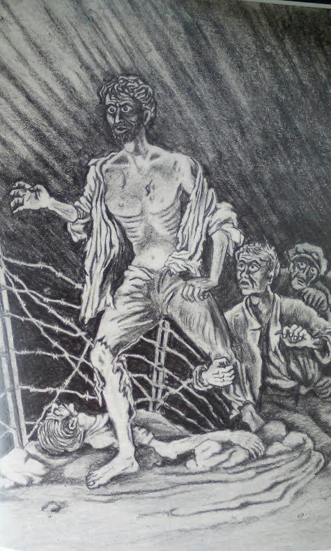Γιώργος Φαρσακίδης, από σχέδιο του 1949