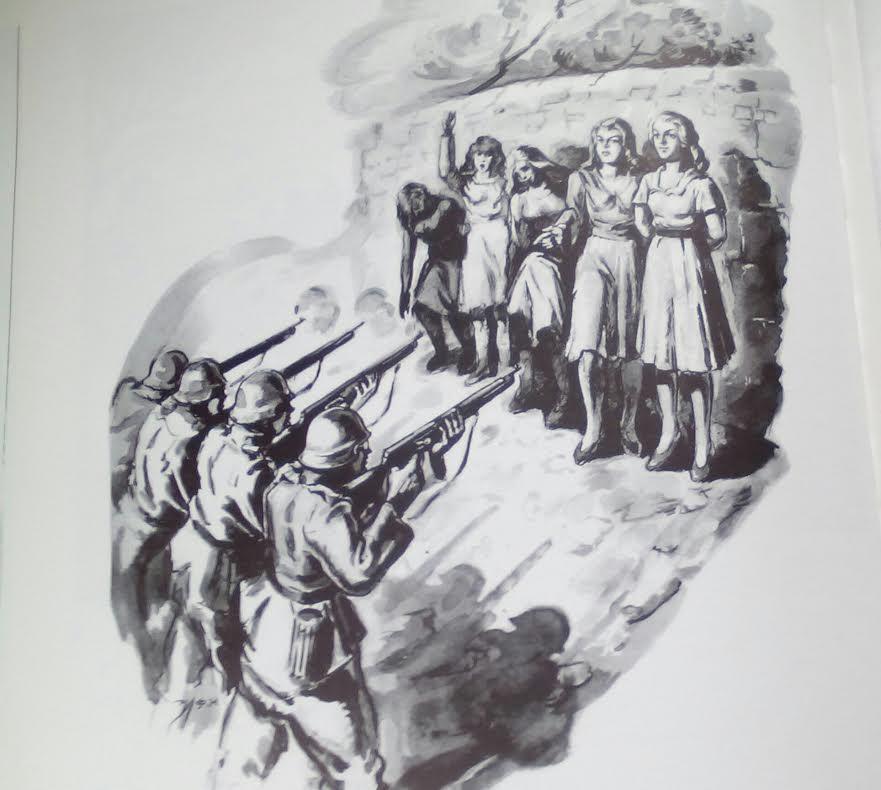 Ηλίας Φέρτης, Γυναίκες στο απόσπασμα, τέμπερα