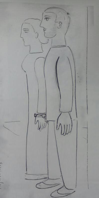 Γιώργος Σικελιώτης, Στο απόσπασμα, σχέδιο
