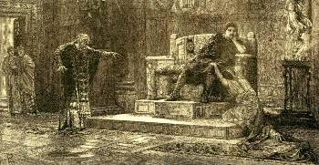 ...Ούτε και άγιος. Οχι μόνο δεν έγινε ποτέ χριστιανός, αλλά ότι έκανε το έκανε για το θεαθήναι και για δημοκοπία. Ηταν ιδιαίτερα αιμοβόρος και σκληρός. Δεν το είχε σε τίποτα να σκοτώσει και να κρεμάσει τον κάθε αντίπαλό του ακόμη και για ασήμαντο λόγο. Σκότωσε με βάρβαρο τρόπο τη γυναίκα του Φαύστα και το γιο του Κρίσπο, από φόβο μην τυχόν τον καούν ποτέ αυτοκράτορα οι Ρωμαίοι (H αγία Ελένη ζητά από τον άγιο Κωνσταντίνο τη θανάτωση της Φαύστας)
