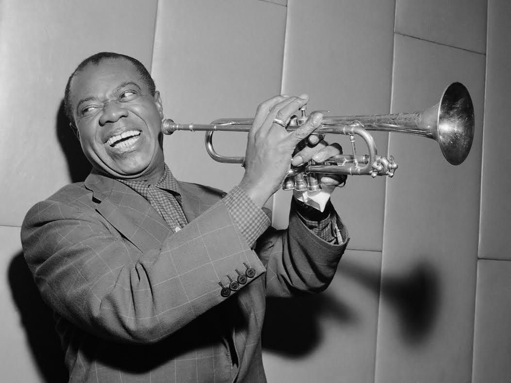 Louis Armstrong bezoekt Amsterdam*29 oktober 1955