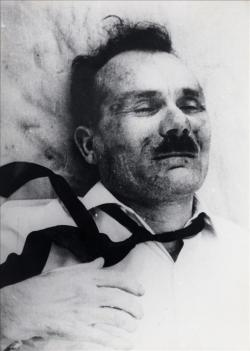 Ο Γ. Τσαρουχάς δολοφονημένος μετά από φριχτά βασανιστήρια