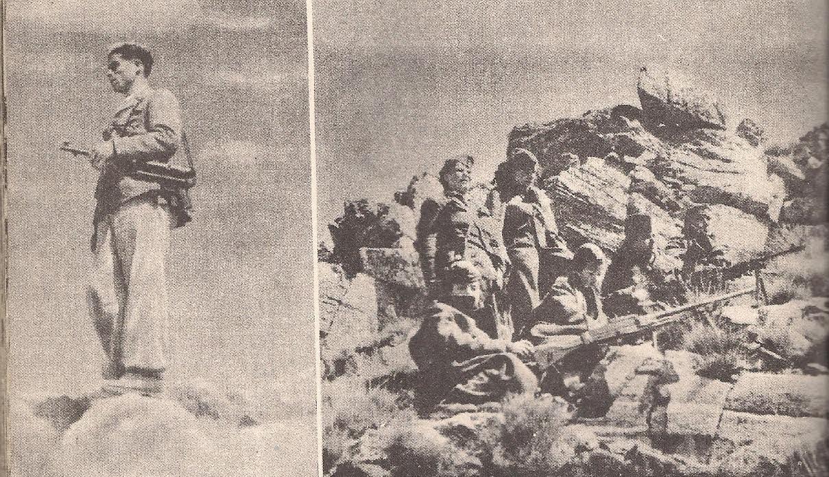 """Φωτογραφία από την ανατύπωση του λευκώματος """"Στα τρίχρονα του Δημοκρατικού Στρατού Ελλάδας 28/10 1946 - 28/10/1948"""""""