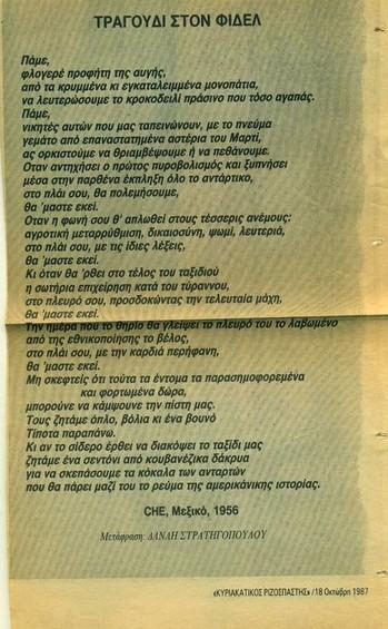 FidelRIZOS 1987