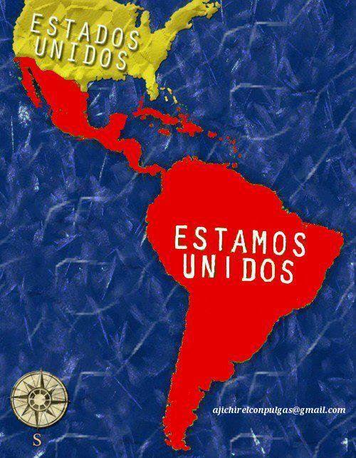 ESTADOS UNIDOS=ΗΠΑ, ESTAMOS UNIDOS=ΕΙΜΑΣΤΕ ΕΝΩΜΕΝΟΙ