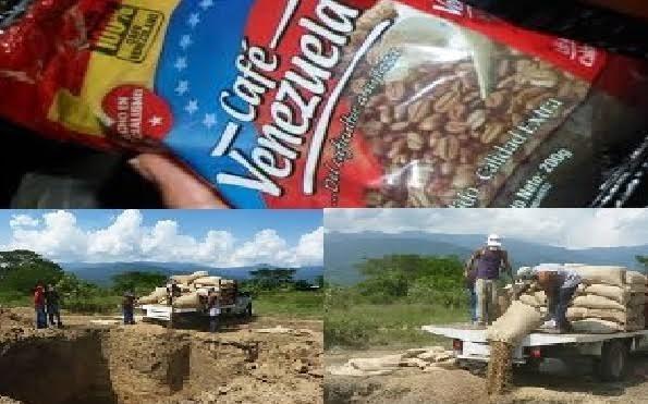 Η εταιρεία Cafe Venezuela έθαψε τόνους καφέ